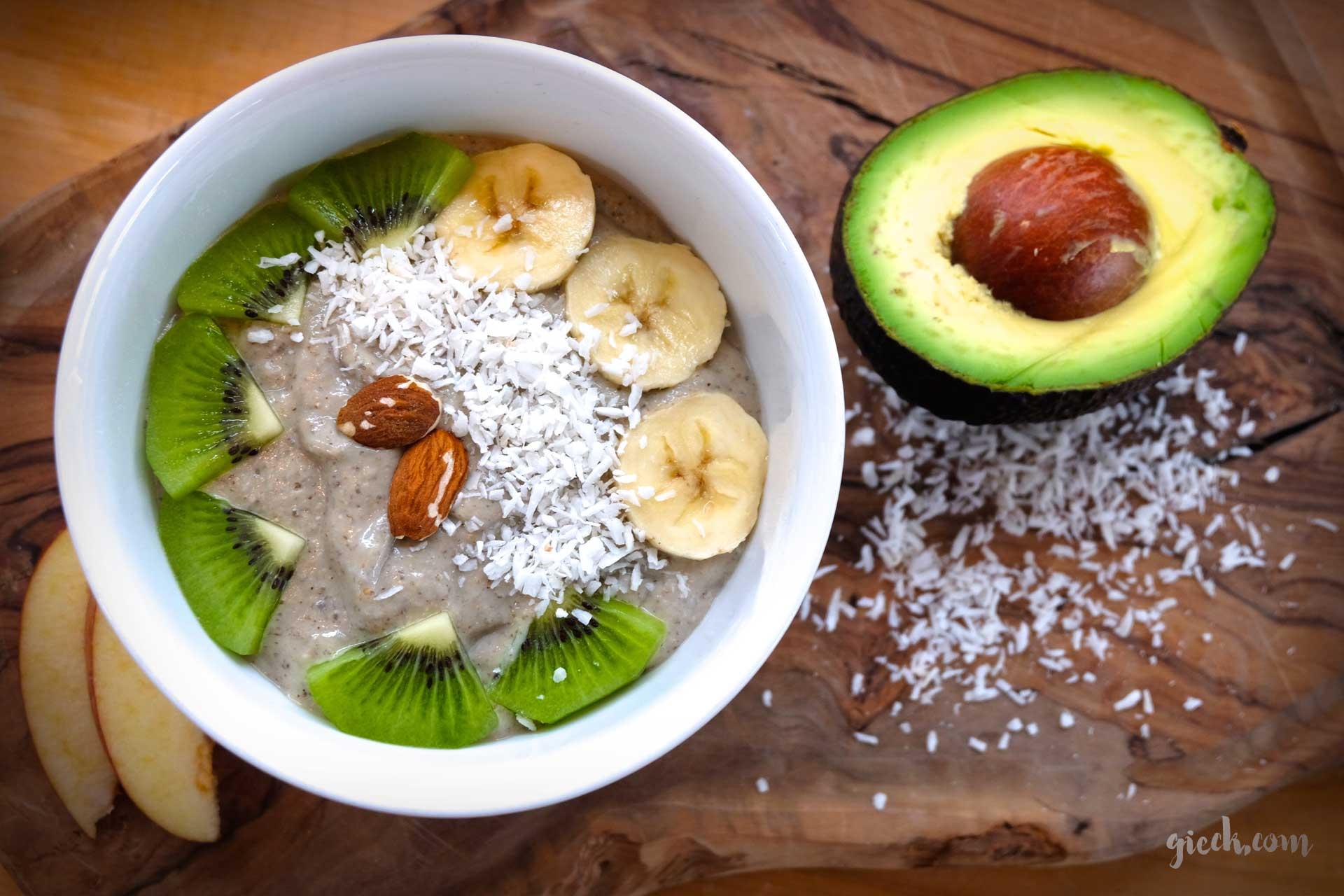 der morgen macht den tag – die smoothie bowl