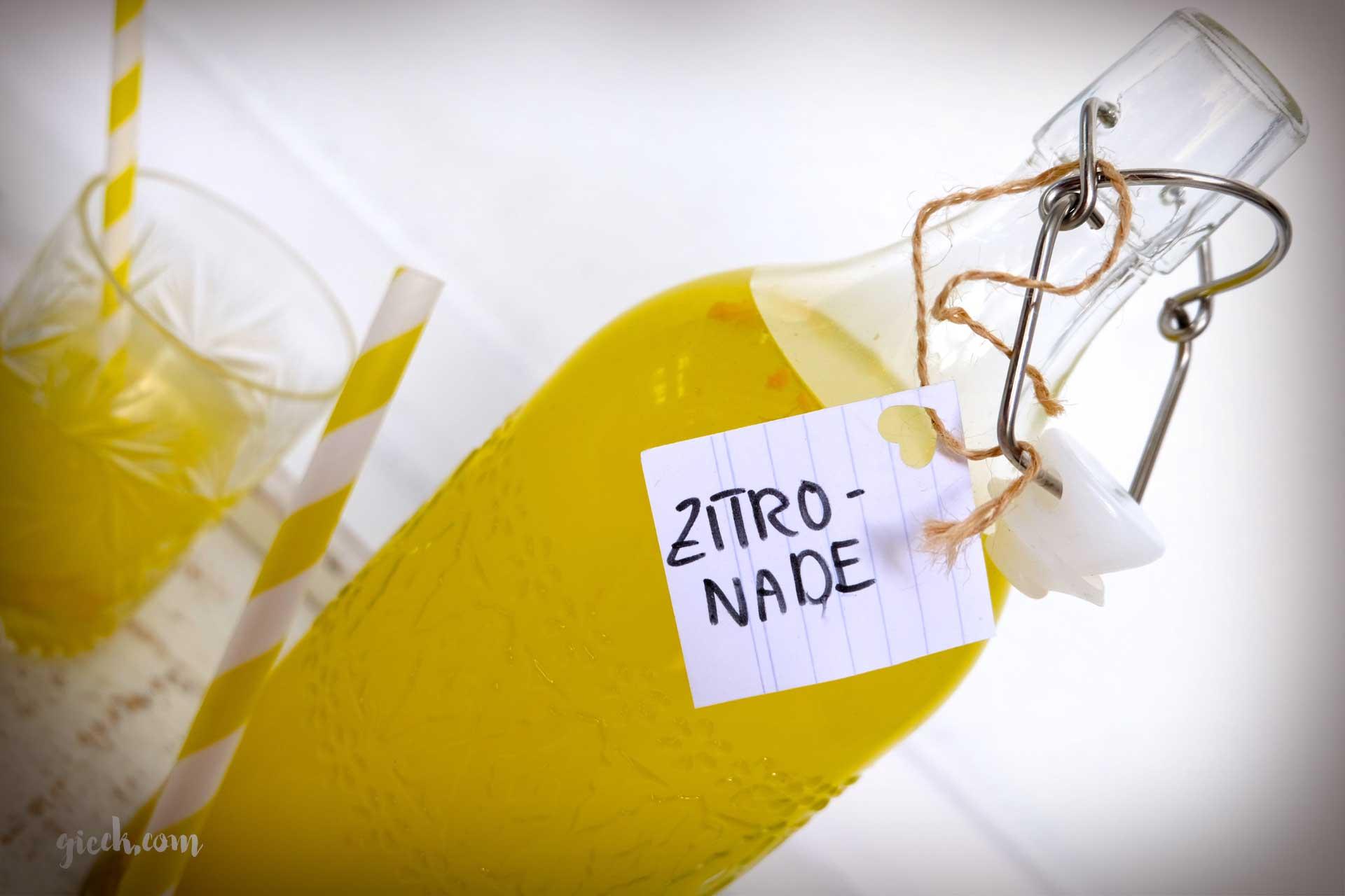 zitronade: unser lifesaver für den sommer