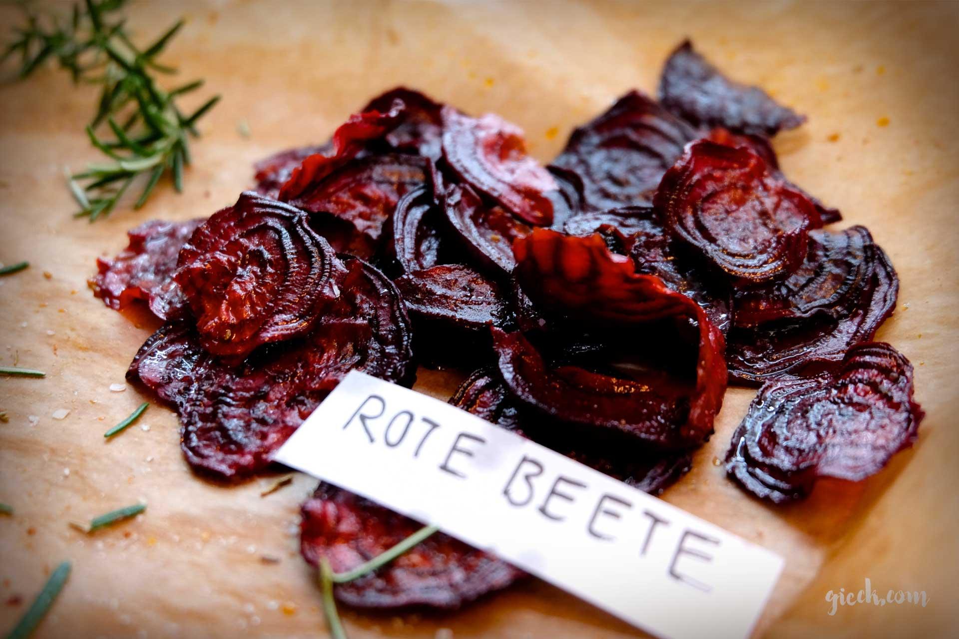 Snacktime: Gemüsechips selber machen